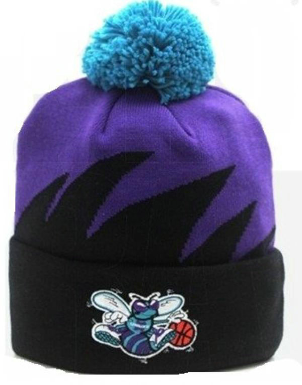 NBA New Orleans Hornets Mitchell&Ness Shark tooth Beanie XDF