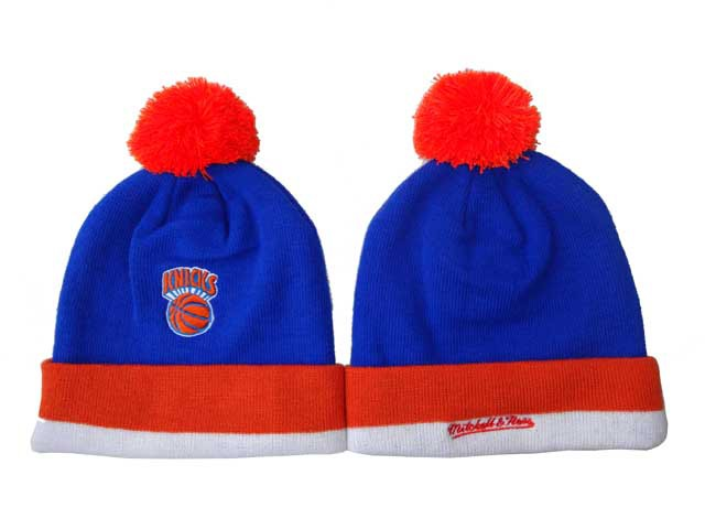 NBA New York Knicks Beanie Blue DF