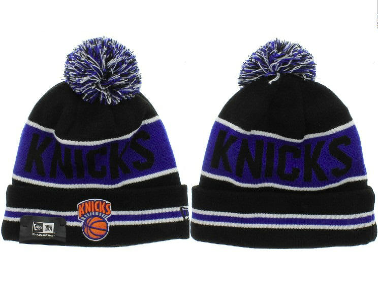 NBA New York Knicks Black Beanie XDF
