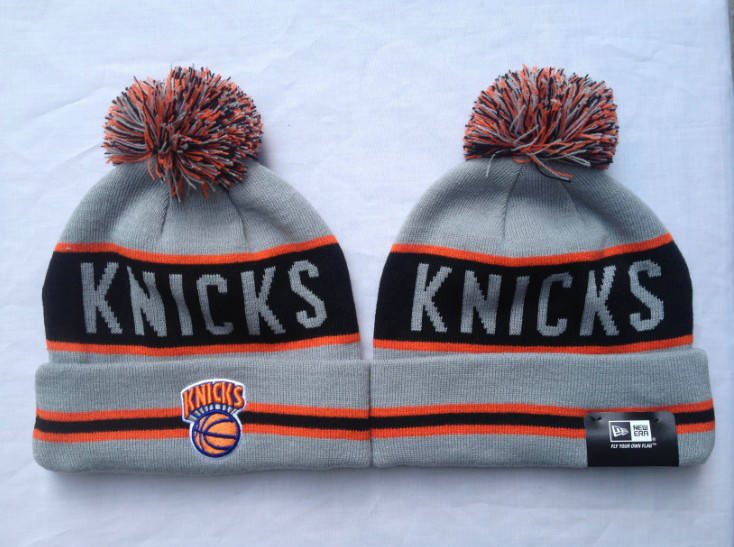 NBA New York Knicks Grey Beanie SF