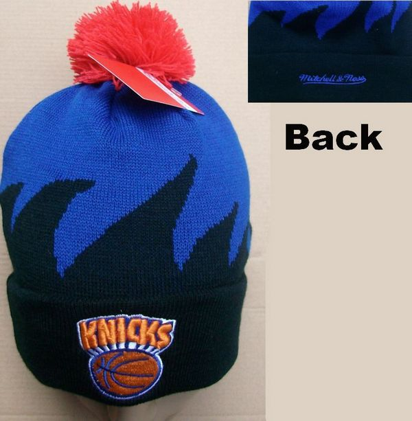 NBA New York Knicks Mitchell&Ness Shark tooth Beanie JT