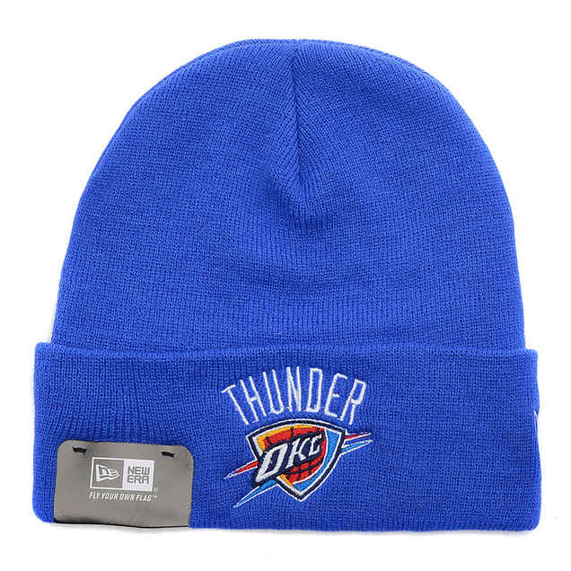 NBA Oklahoma City Thunder Beanie Blue SD