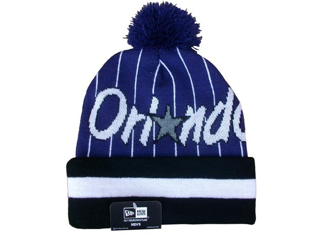 NBA Orlando Magic Black Beanie DF