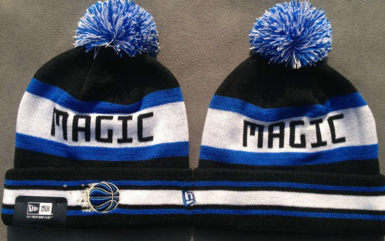 NBA Orlando Magic Black Beanie JT