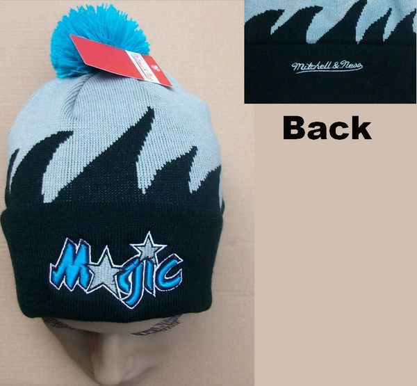 NBA Orlando Magic Mitchell&Ness Shark tooth Beanie JT