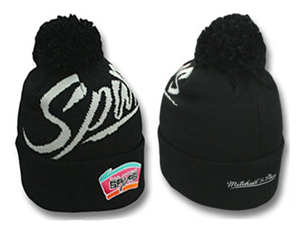 NBA San Antonio Spurs Beanie Black SJ