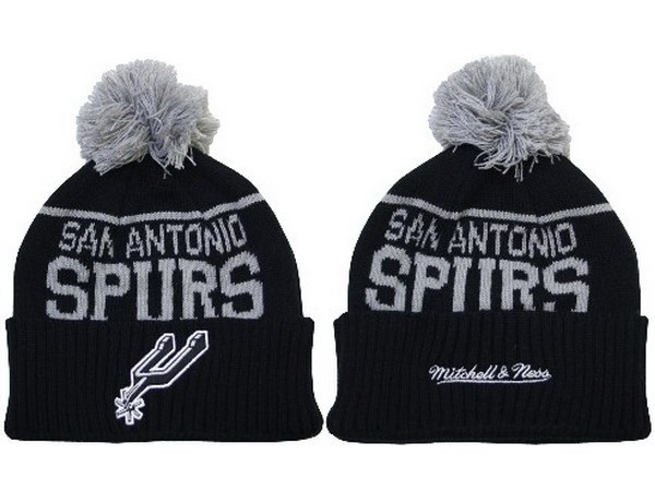 NBA San Antonio Spurs Black Beanie XDF