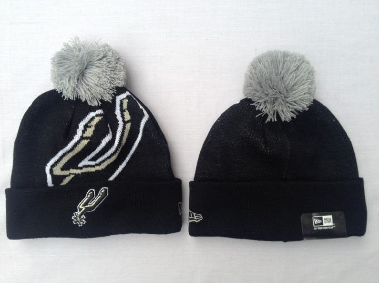 San Antonio Spurs Black Beanie SF