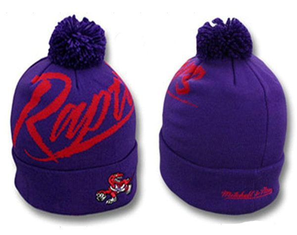 NBA Toronto Raptors Beanie Purple SJ