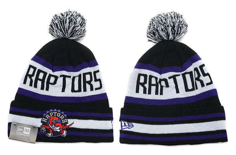 NBA Toronto Raptors Black Beanie SD
