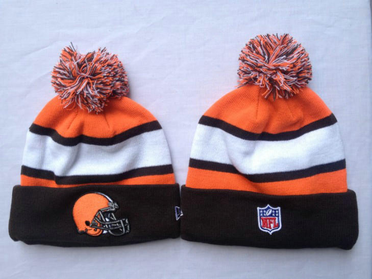 NFL Cleveland Browns Stripe Beanie 1 SF