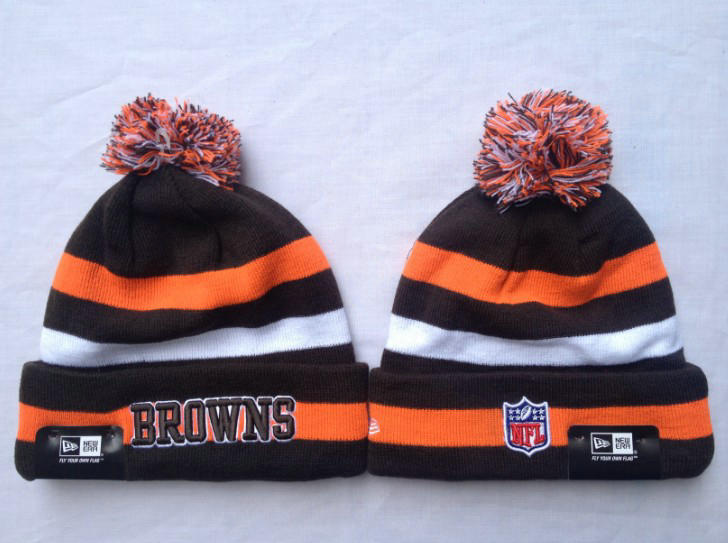NFL Cleveland Browns Stripe Beanie SF