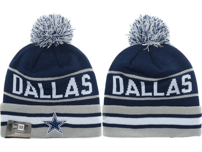 Dallas Cowboys Blue Beanie XDF 1