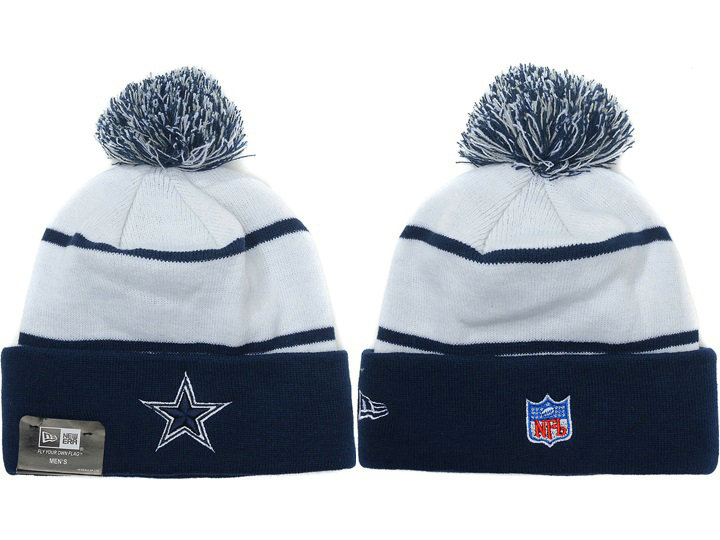 Dallas Cowboys Blue Beanie XDF 3