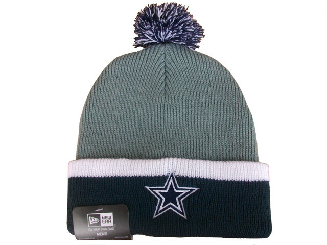 NFL Dallas Cowboys Beanie Grey DF