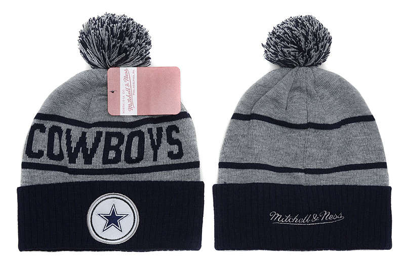 NFL Dallas Cowboys Beanie Grey SD