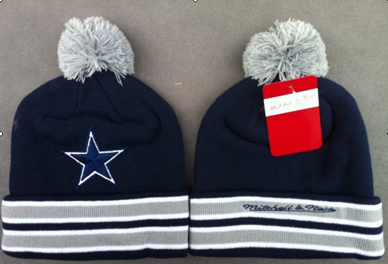 NFL Dallas Cowboys Navy Beanie JT