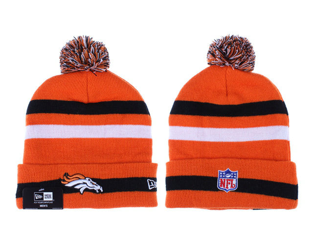 NFL Denver Broncos Orange Beanie 1 LX