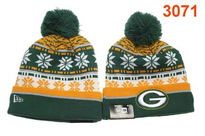 Green Bay Packers Green Beanie P-T