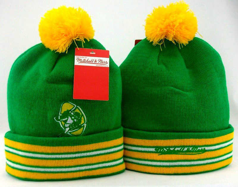 NFL Green Bay Packers Green Beanie JT