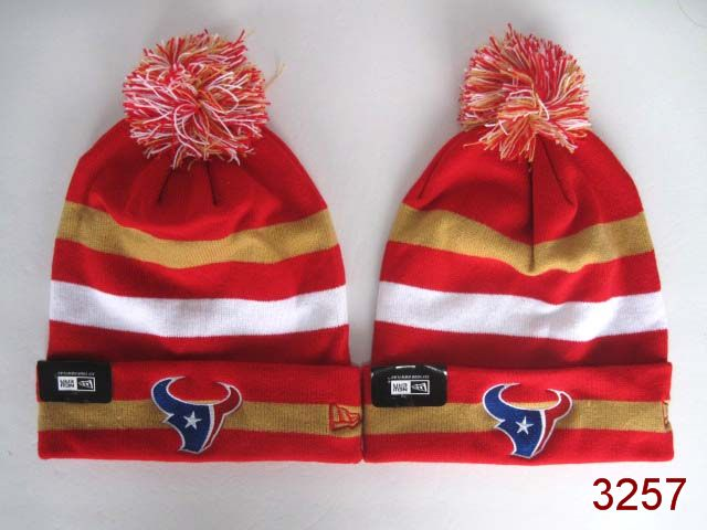 NFL Houston Texans Stripe Beanie 1 SG