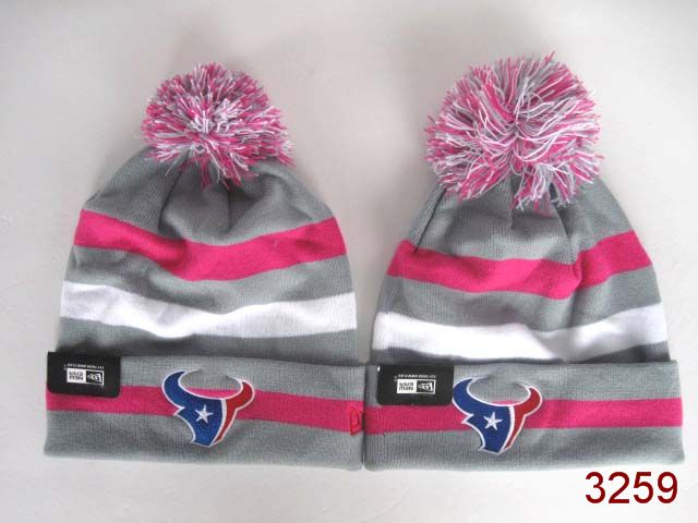 NFL Houston Texans Stripe Beanie 3 SG