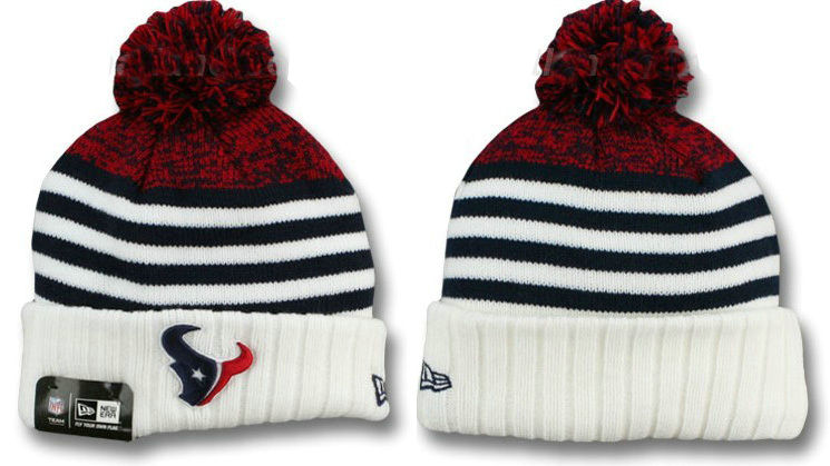 NFL Houston Texans Stripe Beanie DF