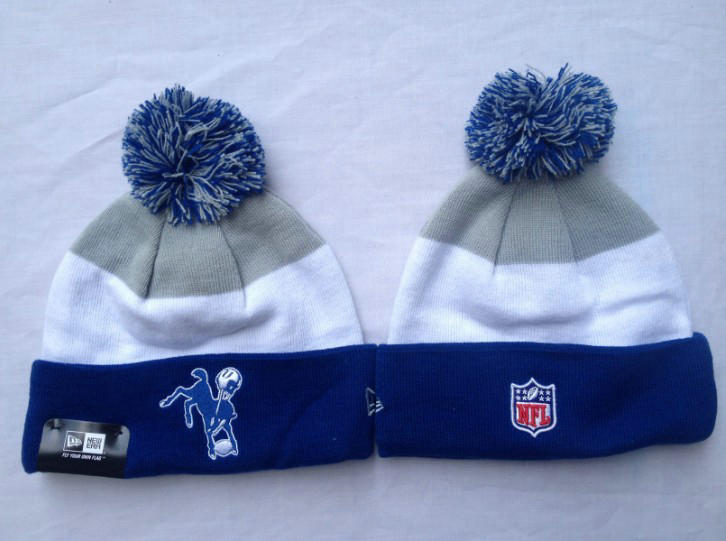 NFL Indianapolis Colts Stripe Beanie SF