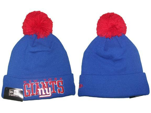 NFL New York Giants Blue Beanie JT