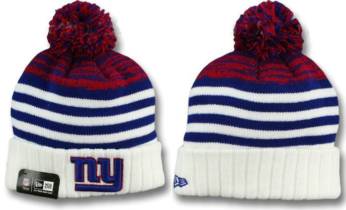 NFL New York Giants Stripe Beanie DF