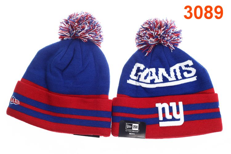 NFL New York Giants Stripe Beanie P-T