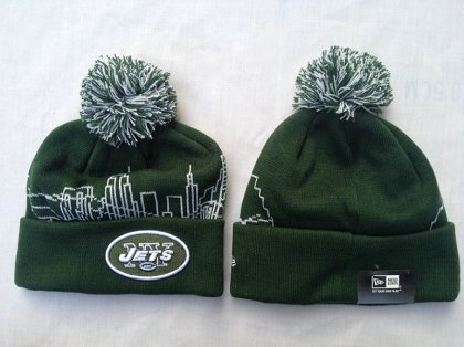 NFL New York Jets Green Beanie SF-r