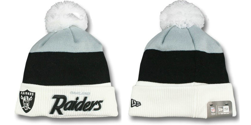 NFL Oakland Raiders Beanie 1 DF