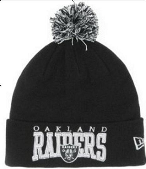 NFL Oakland Raiders Beanie Black 1 JT