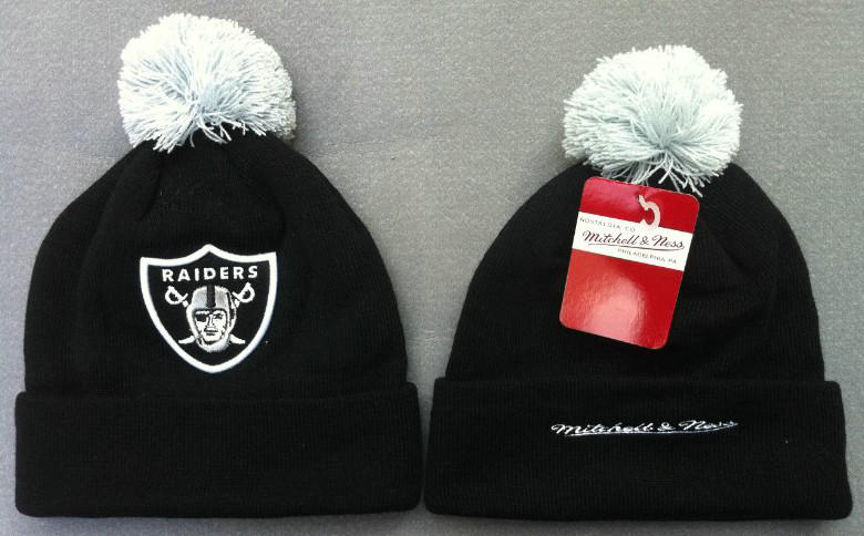 NFL Oakland Raiders Beanie Black JT