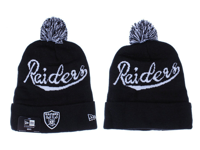 NFL Oakland Raiders Beanie Black LX