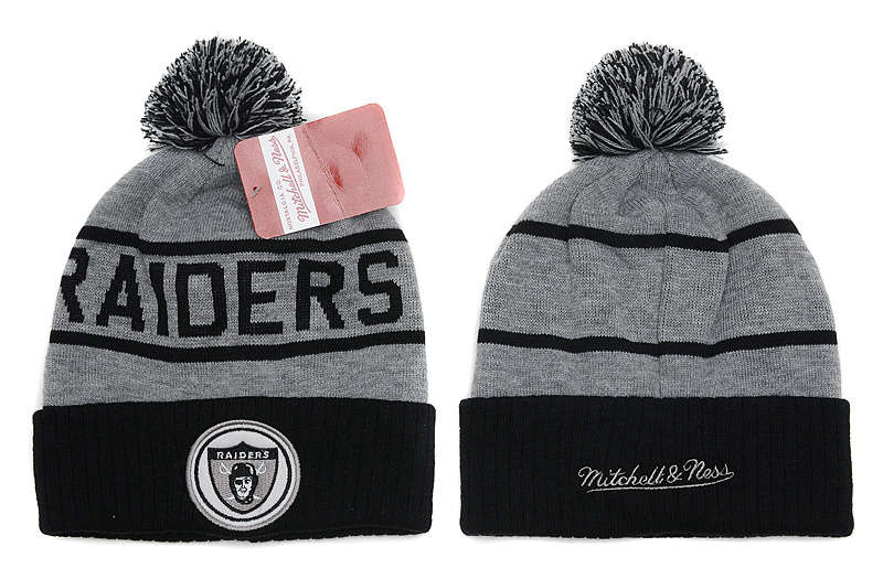 NFL Oakland Raiders Beanie Grey SD