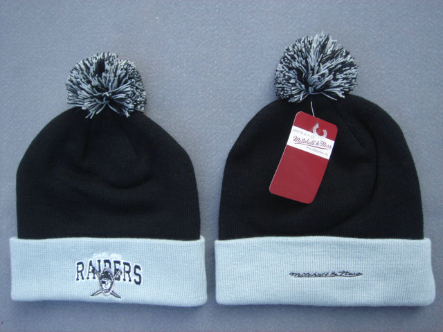 NFL Oakland Raiders Black Beanie 1 SF