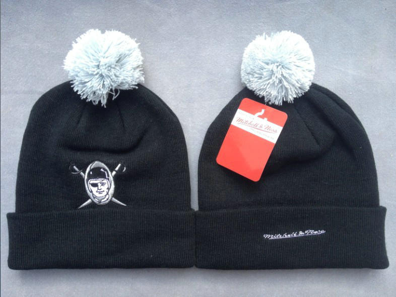 NFL Oakland Raiders Black Beanie 2 SF