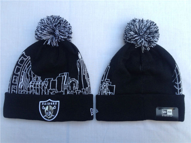 NFL Oakland Raiders Black Beanie SF