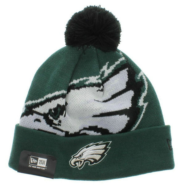 NFL Philadelphia Eagles Green Beanie XDF