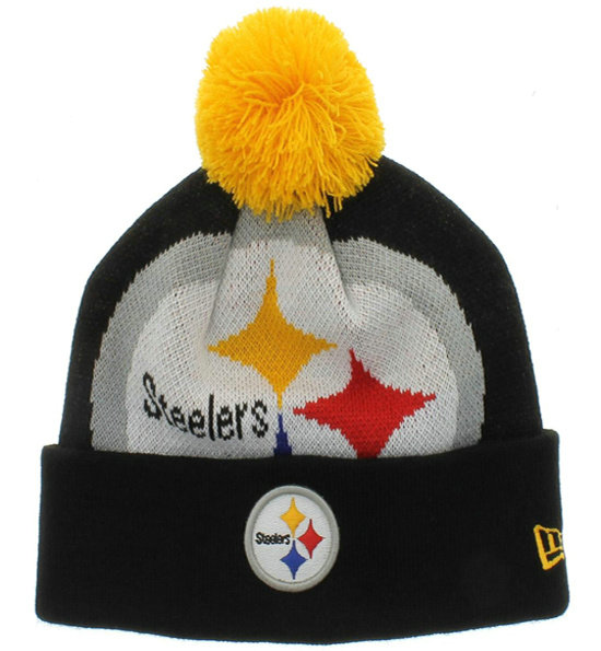 NFL Pittsburgh Steelers Beanie Black SJ