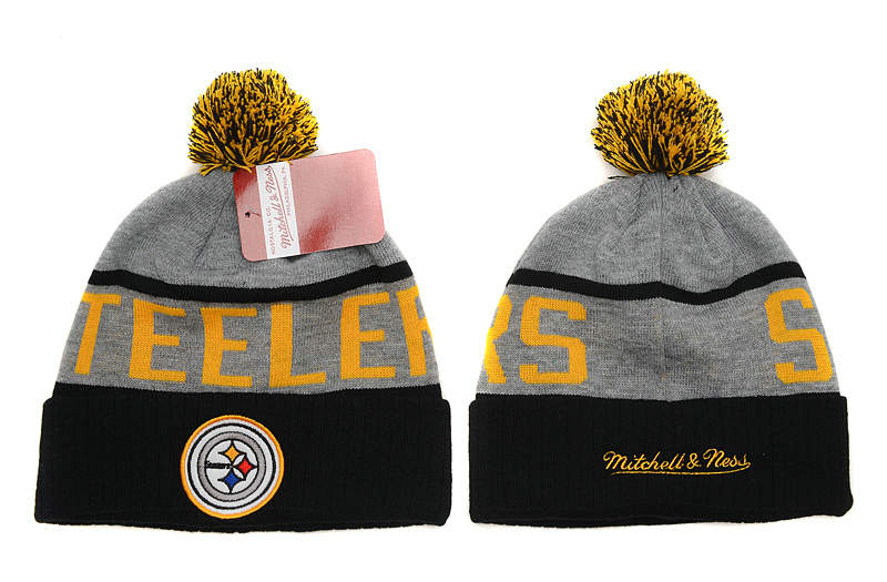 NFL Pittsburgh Steelers Beanie Grey SD