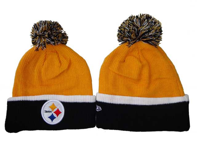 NFL Pittsburgh Steelers Beanie Yellow DF