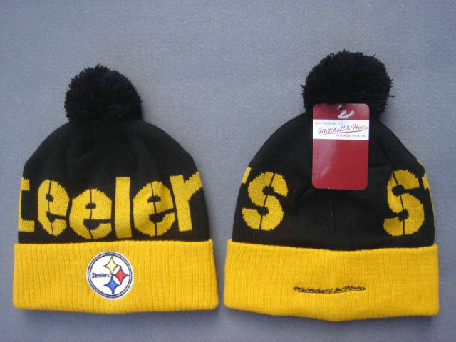 NFL Pittsburgh Steelers Black Beanie 1 SF