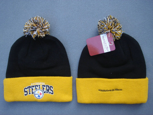 NFL Pittsburgh Steelers Black Beanie 2 SF