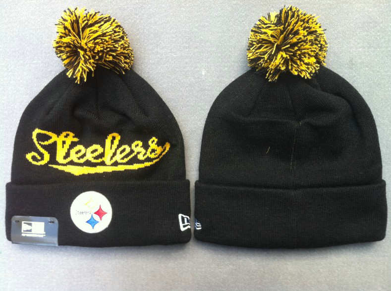 NFL Pittsburgh Steelers Black Beanie 4 SF