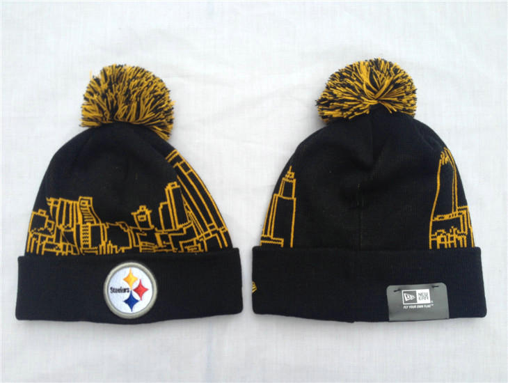 NFL Pittsburgh Steelers Black Beanie SF