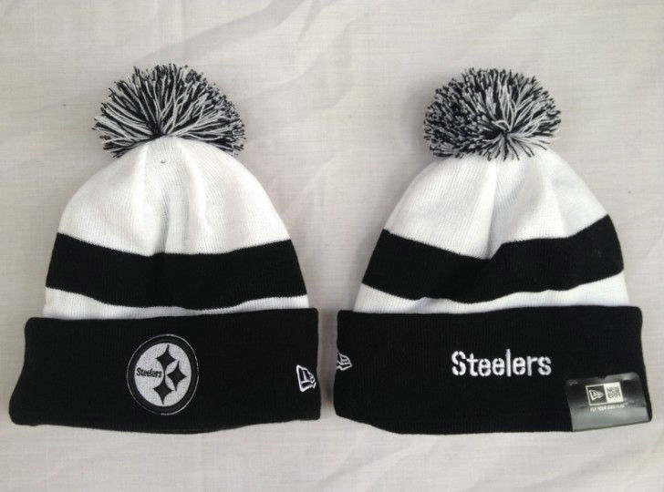 NFL Pittsburgh Steelers Stripe Beanie 1 SF