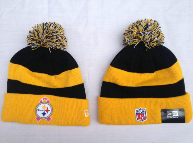 NFL Pittsburgh Steelers Stripe Beanie SF